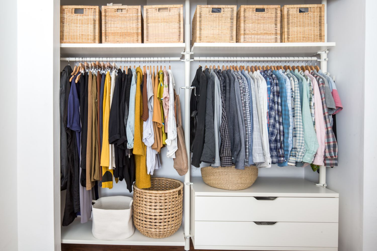 A $17 Closet Organizer to Keep Your Clothes Happy This Fall