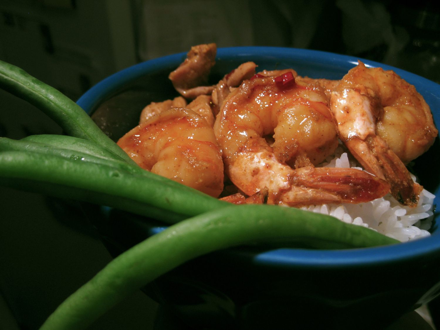 Kevin's Spicy Orange Teriyaki Chicken and Shrimp Quick Weeknight Meals Recipe Contest 2009