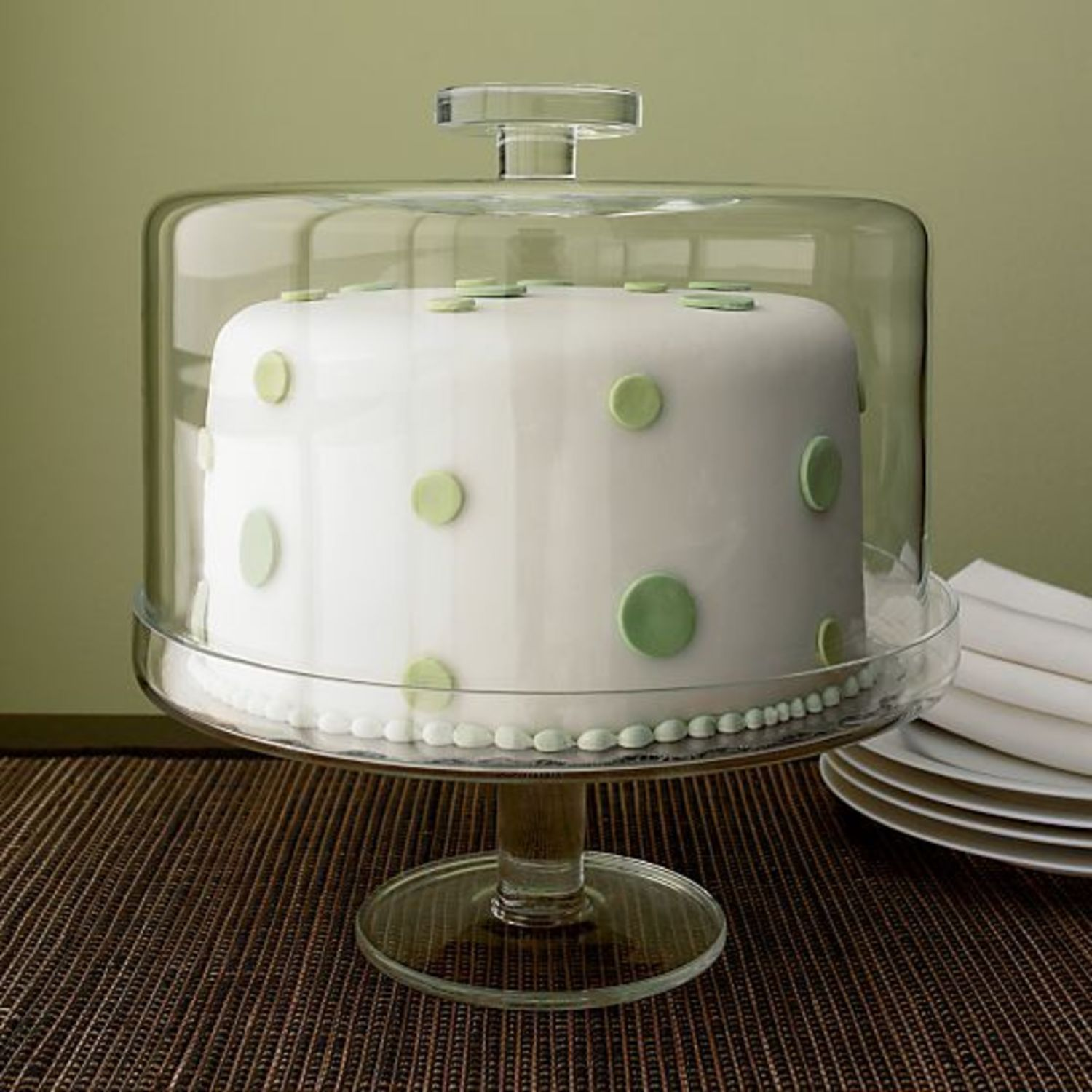 10 Pretty Domed Cake Stands Amp Keepers Kitchn