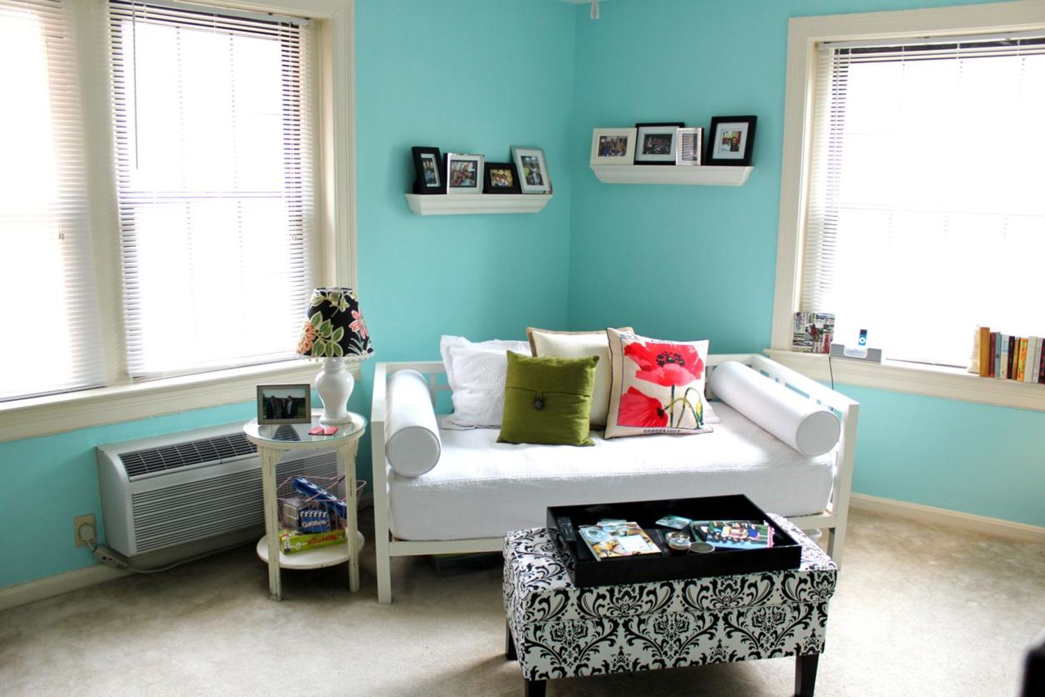 Julie S Brightly Colored Walls Apartment Therapy