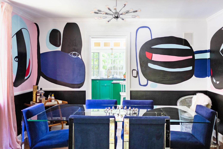 This Colorful Home Has Incredibly Creative DIYs & IKEA Hacks