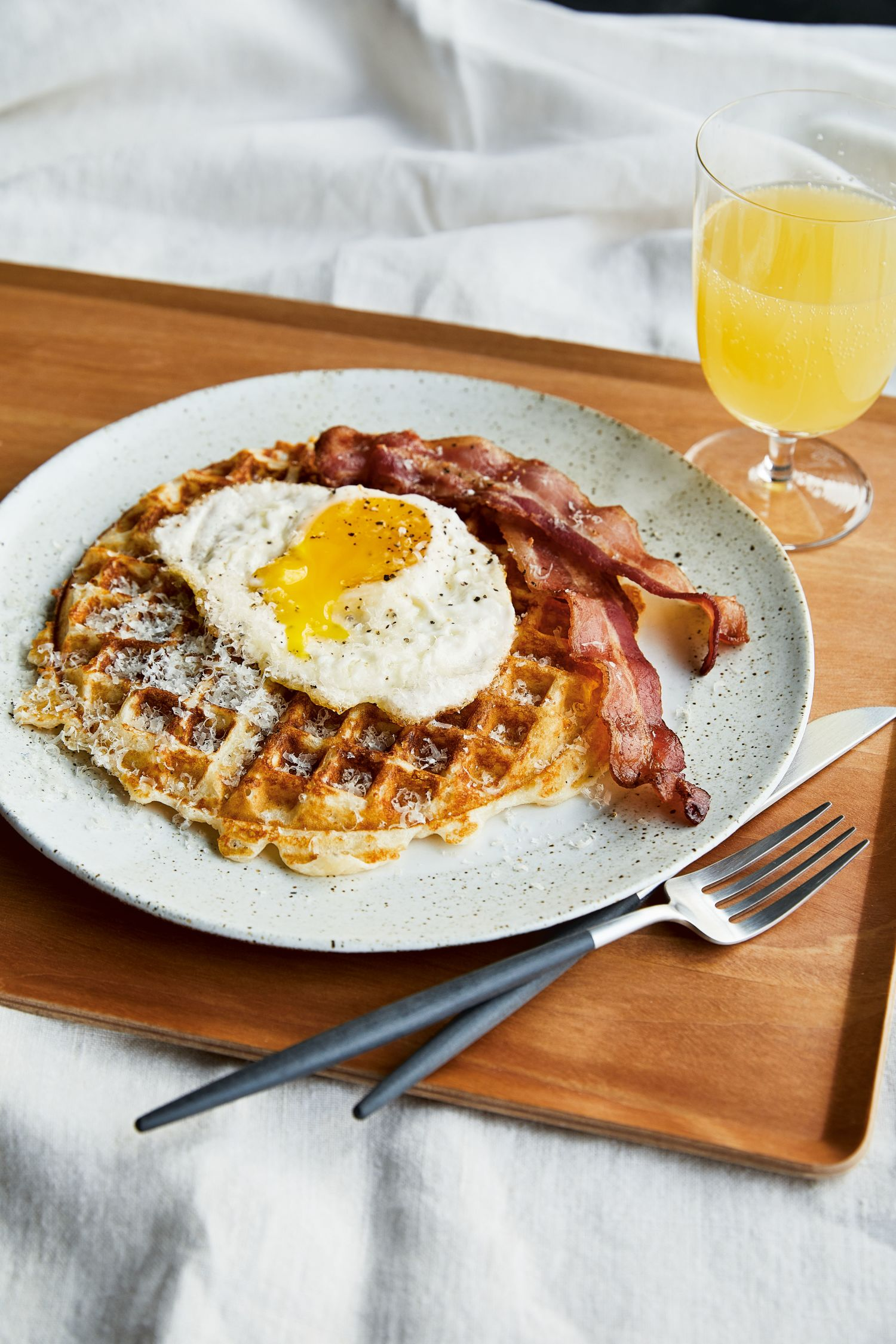 The Surprising Ingredient Chrissy Teigan Adds to Her Waffles