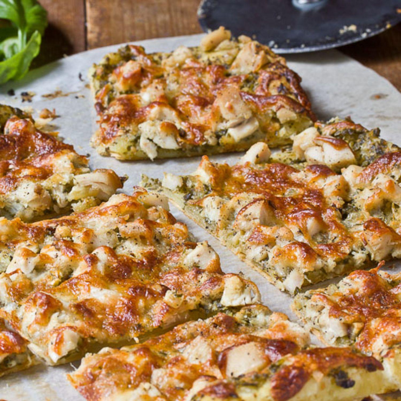 Weeknight Recipe: Pesto Chicken Tart