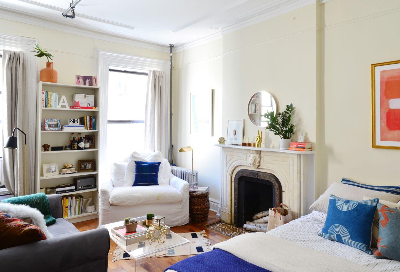 House tour a dreamy 400 square foot brooklyn studio - 400 sq ft studio apartment ideas ...
