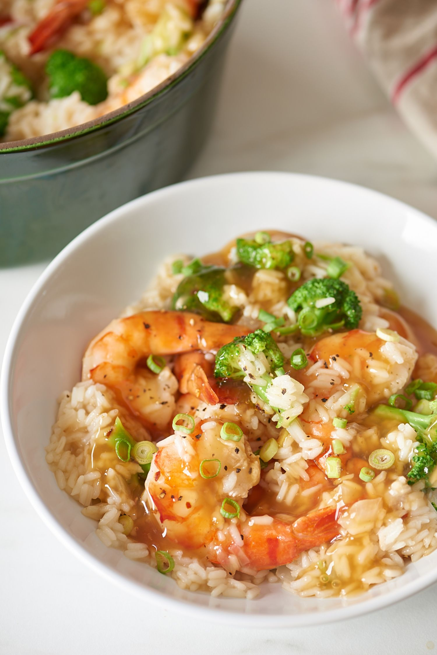 Easy One-Pot Shrimp and Rice