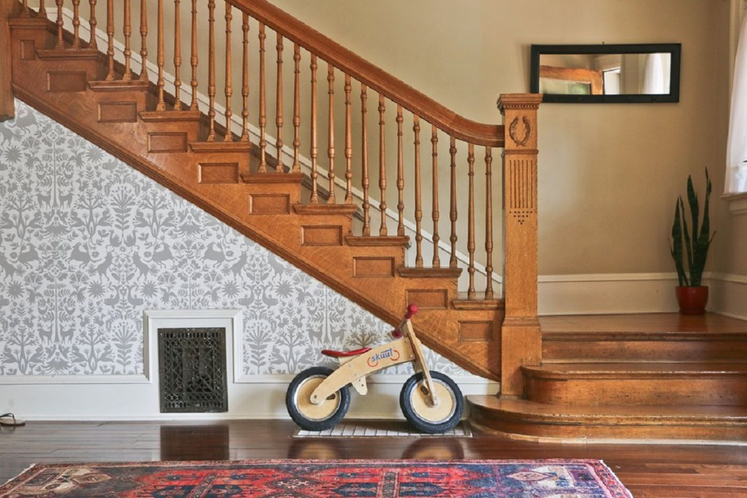 Bold, Beautiful Entryways Where Wallpaper is the Star
