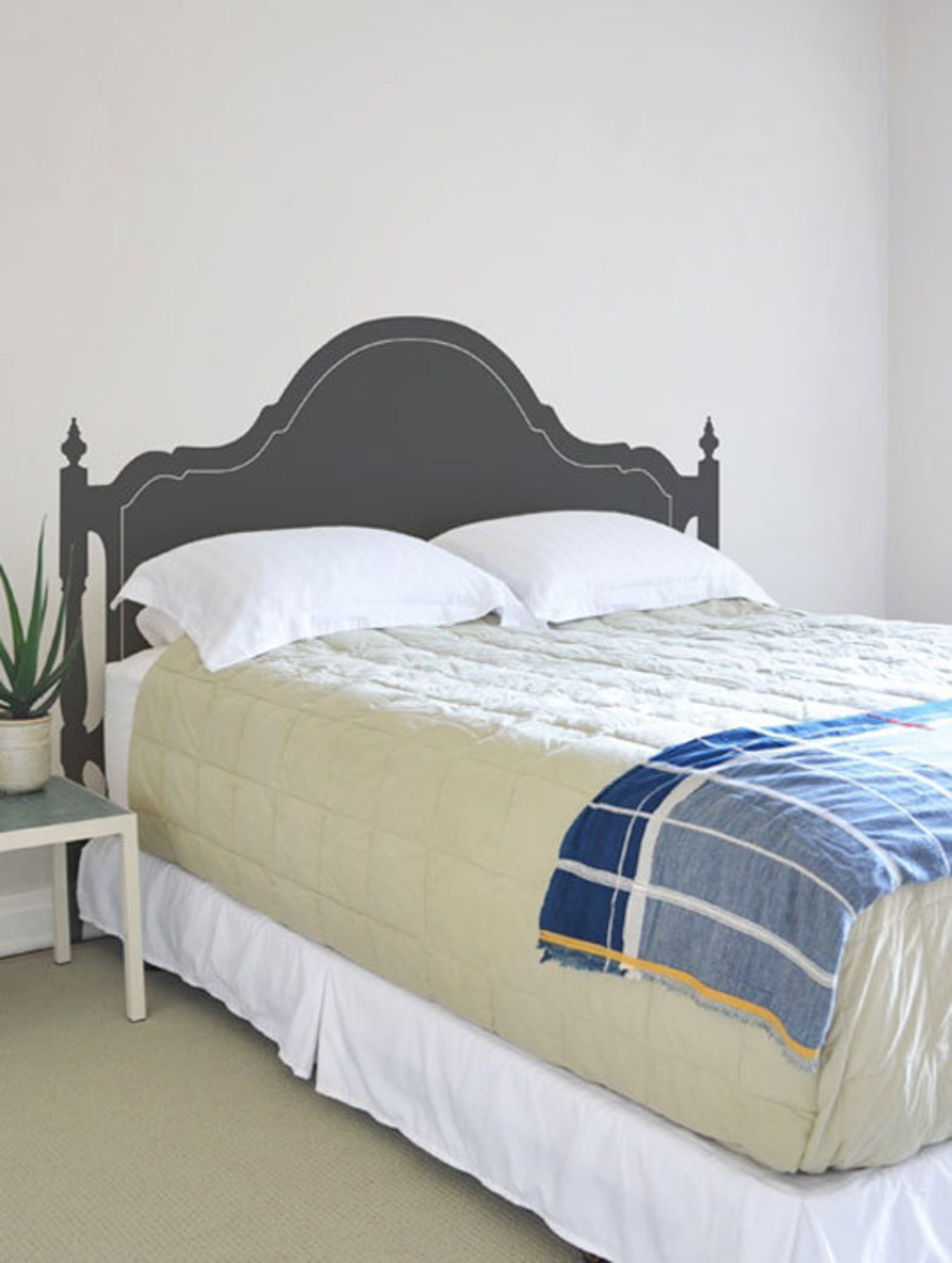 Alternative Headboards Painted Backdrops &Amp Wall Decals - Apartment Therapy