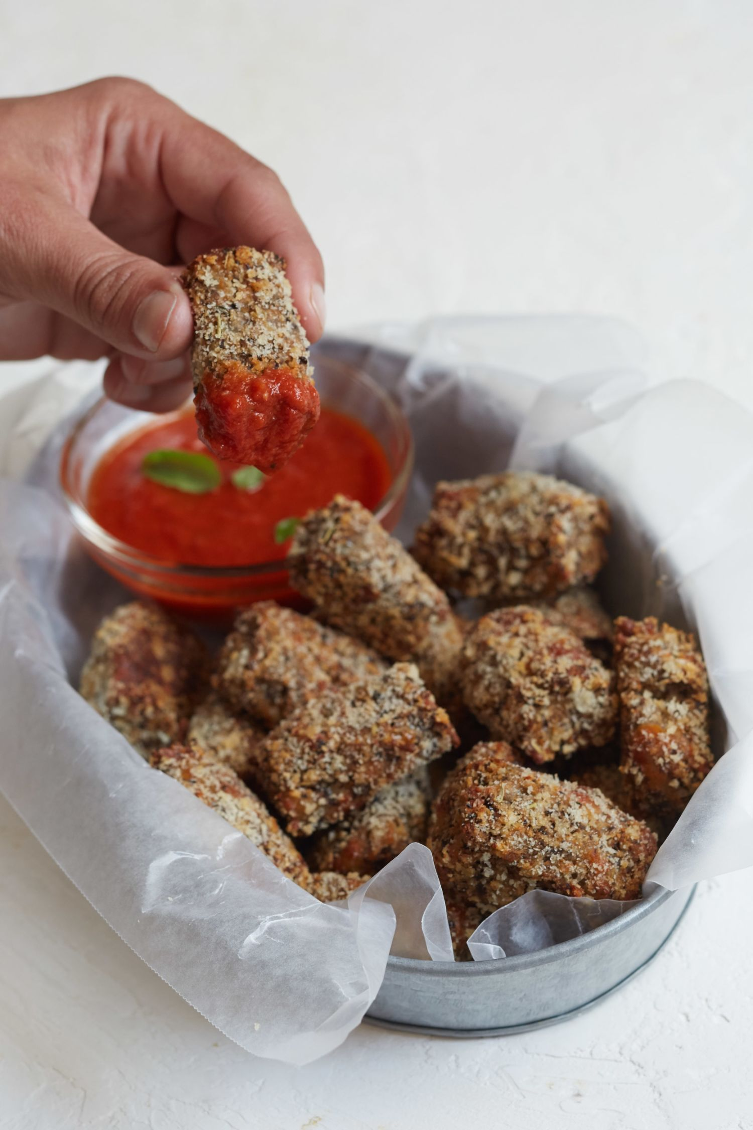 These Easy Eggplant Parm Tots Will Make You Feel Like Giada