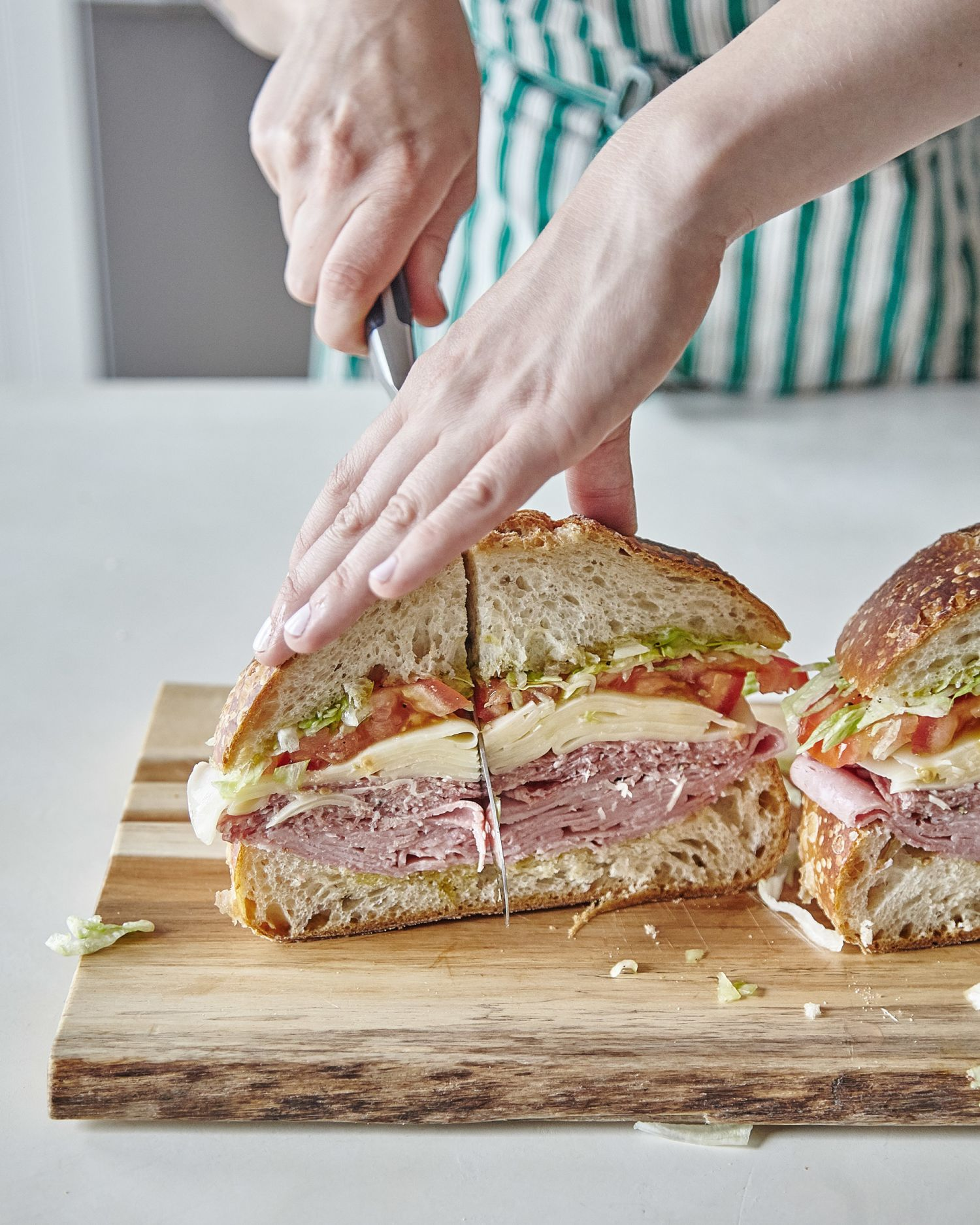 This Make-Ahead Sandwich Feeds Up to 10 People
