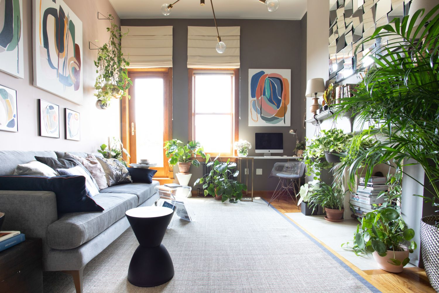 This May Be the Most Art and Plants in 400 Square Feet, Ever