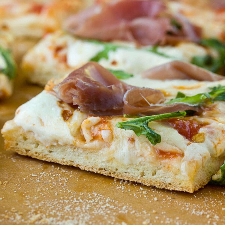 recipe quick no rise pizza dough kitchn