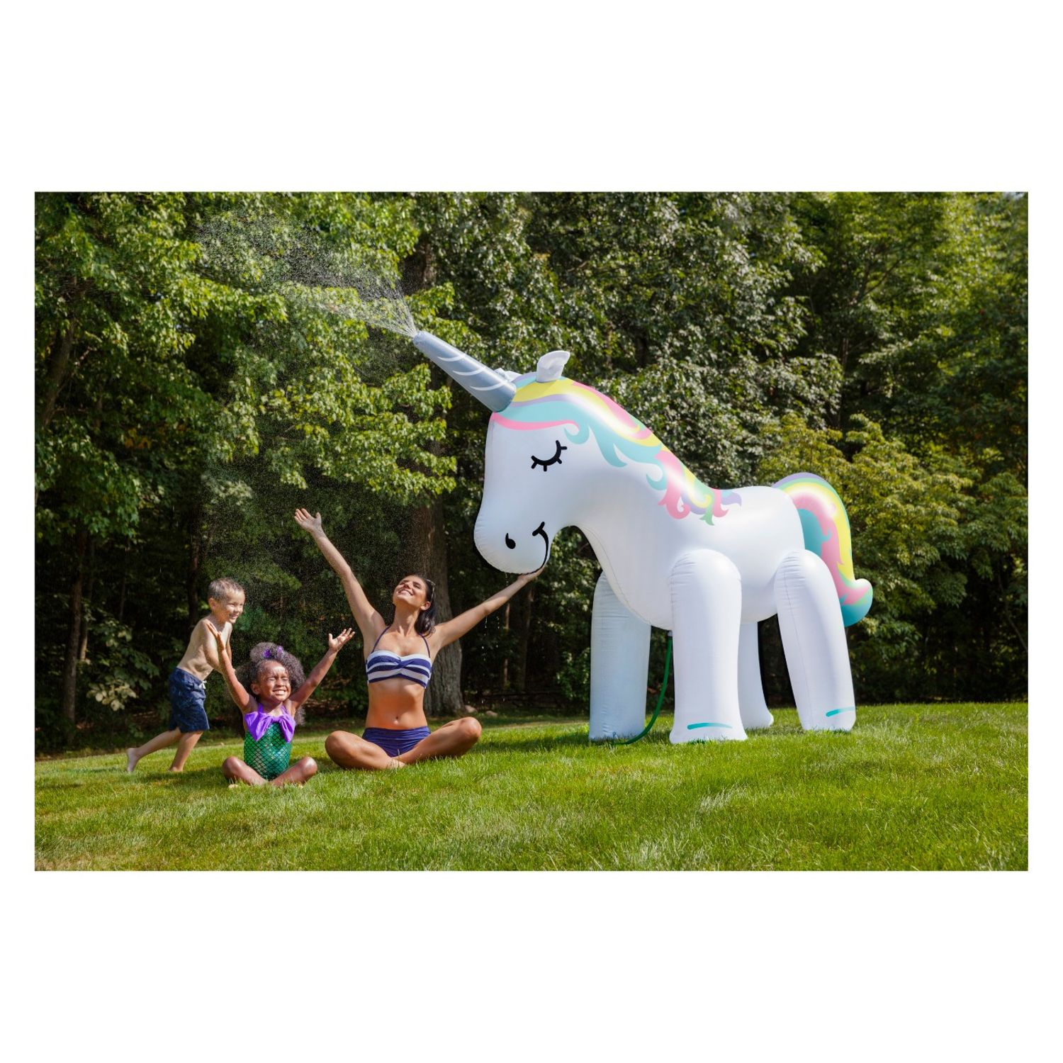 You Can Buy This Giant Unicorn Sprinkler at Target