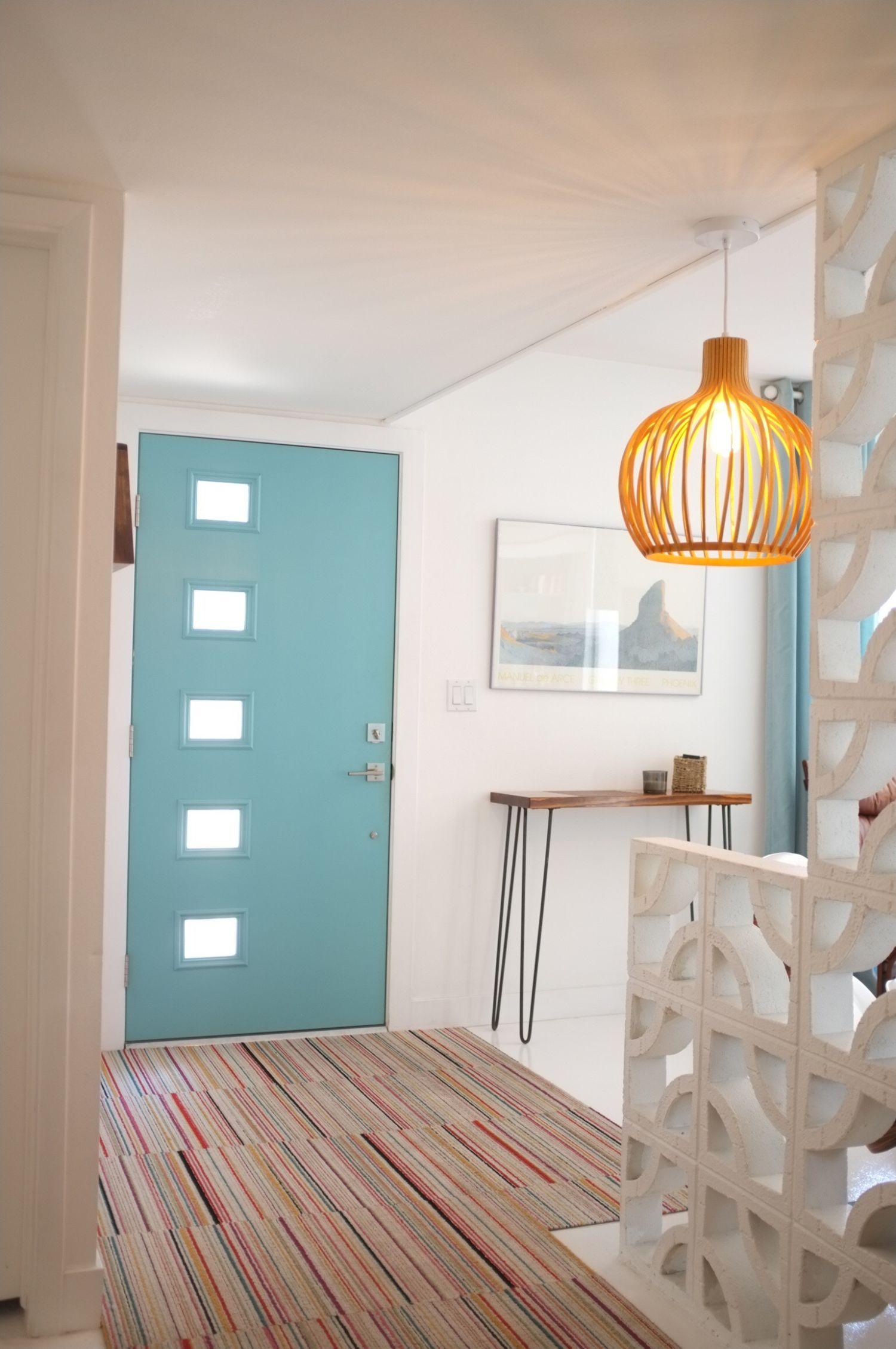 Kimberly S Beautifully Blue Amp Totally Funky Phoenix Home