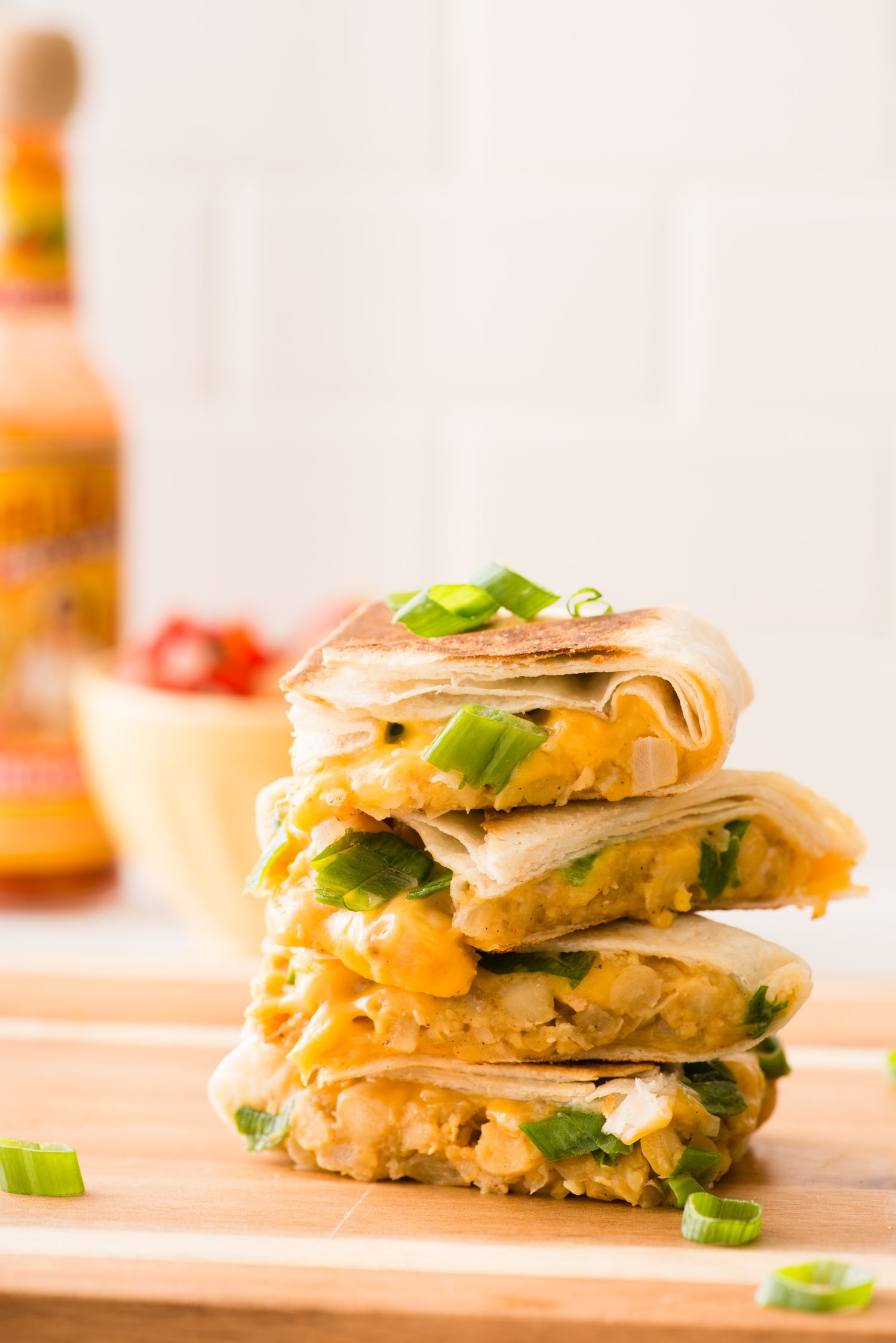 These Chickpea Quesadillas Are the Easiest Make-Ahead Lunch