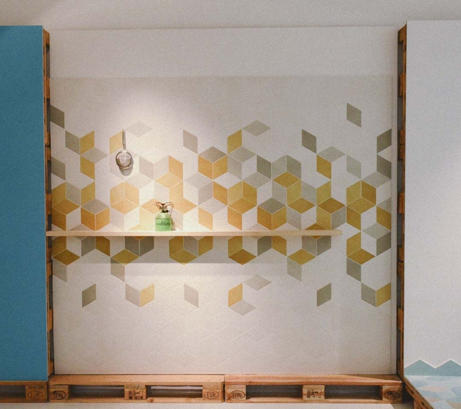 Geometric Tile For The Kitchen From Mutina, Patricia