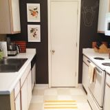 Ingrid's Dark-Walled Galley Kitchen — Small Cool Kitchens 2013