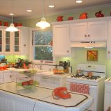 "Tina's ""Morning Pick Me Up"" Kitchen — Room for Color Contest"