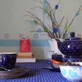 Melanie's Shades of Blue Kitchen — Small Cool Kitchens 2013