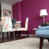 """Sarah's """"Plum Perfect"""" Room — Room for Color Contest"""