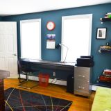 """Rebecca's """"Charging Up - Winding Down"""" Room — Room for Color 2014"""