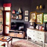 """Aradhana's """"Charcoal Pop"""" Room — Room for Color Contest"""