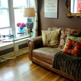 "Abigail's ""Cozy Bronze"" Room — Room for Color Contest 2014"