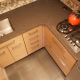 Alvin's Dramatic Makeover (with Bubbles!) —  Small Cool Kitchens 2012