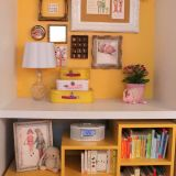 """Victoria's """"Sunny Yellow Plus a Pink Popsicle"""" Room — Room for Color Contest"""