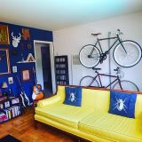 Bryer & Vanessa's Bright & Fun Apartment — Small Cool 2016