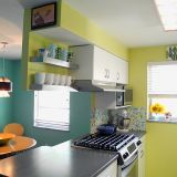 Ashley's Cheery Columbus Kitchen — Small Cool Kitchens 2012