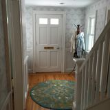 Keri's Pops of Pattern Entryway — Energize Your Entryway Contest