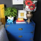 "Kimberly's ""Royal, Mustard and Berry"" Room — Room for Color Contest"