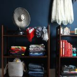 "Lesley's ""Navy Blue"" Room — Room for Color Contest"