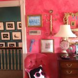 """Pamela's """"Cherry Pink Crush"""" Room — Room for Color Contest"""