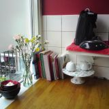 Maria's Red & Cream Dutch Kitchen —  Small Cool Kitchens 2012
