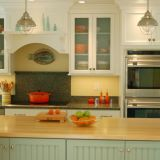 Jill's Blue & Yellow Kitchen —  Small Cool Kitchens 2012