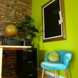 "Nathalie's ""Golden Green"" Room — Room for Color Contest"