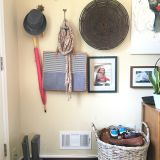 Natasha's Seamless Entryway in the Living Room — Energize Your Entryway Contest