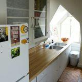 Jenna's Unique Attic Kitchen — Small Cool Kitchens 2013
