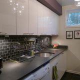 Christina's Sleek D.C. Kitchen —  Small Cool Kitchens 2012