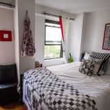 Kelly's Black, White & Red NYC Apartment — Small Cool 2016