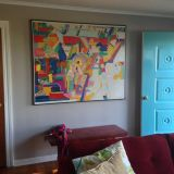 "Justin's ""Mid Century Calm"" Room — Room for Color Contest"