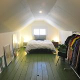 Cammie's Great Green Attic Bedroom — My Bedroom Retreat Contest