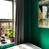 "Sarah's ""Caribbean Green"" Room — Room for Color Contest"