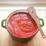 how to make canned tomatoes into sauce