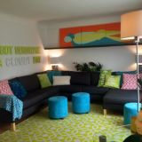 "Alisha's ""Funky & Fresh"" Room — Room for Color Contest"