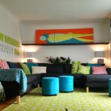 """Alisha's """"Funky & Fresh"""" Room — Room for Color Contest"""