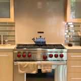 Joanna & Mike's Perfect Fusion of Glass, Wood, Steel, and Stone — Small Cool Kitchens 2013