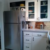 Before & After: Nicole's Painted Cabinet Interiors — The Big Reveal