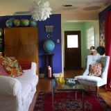 """Polly's """"Moody Blues"""" Room — Room for Color Contest"""